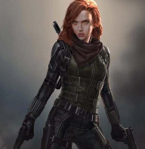 black widow cosplay endgame