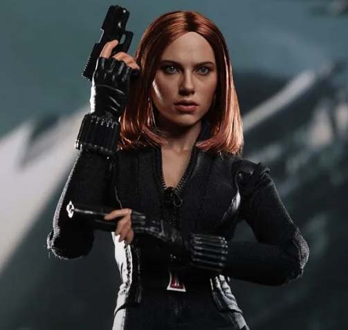 black widow hot toys
