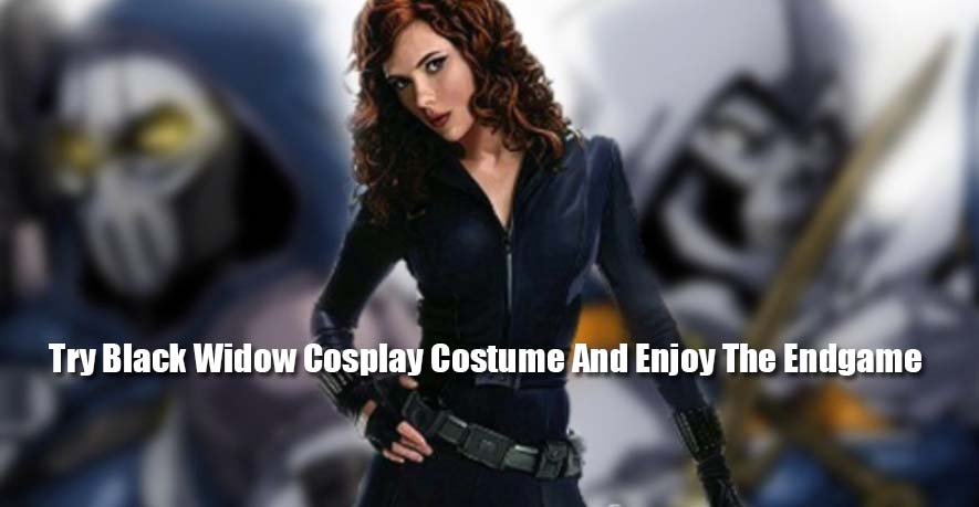 Try Black Widow Cosplay Costume And Enjoy The Endgame