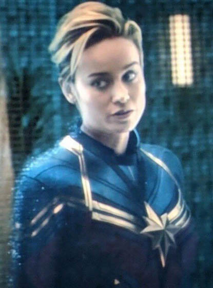 Captain Marvel In Endgame