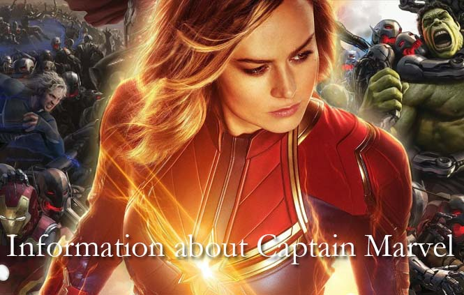 Are you finding some information about Captain Marvel?